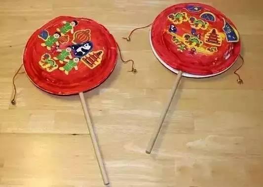 幼儿园春节主题之艺术领域 迎新春手工制作,红红火火过大年