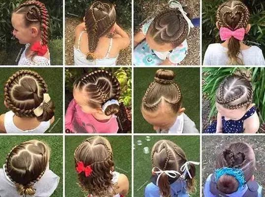 潮娃|简单3步轻松没有发型完成,编发不怕过年短v发型图片儿童2017男图片