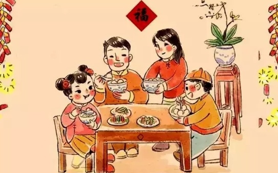 春节为什么要吃年夜饭 这是一顿家人的团圆饭