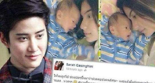 泰国男星MIKE再次澄清与前女友关系, 并承诺会一直照顾母子!