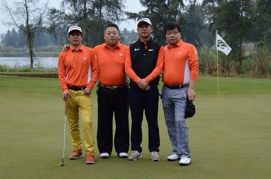 首届越南芒街国际业余高尔夫个人挑战赛第三站完美收杆