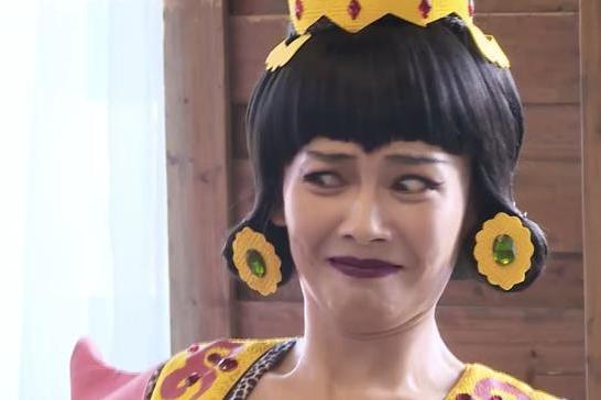 从白素贞变蛇精,刘涛这个扮相吓坏小朋友,结局却让人感动