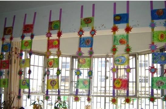 幼儿园教室布置图,总有一款是你喜欢的图片