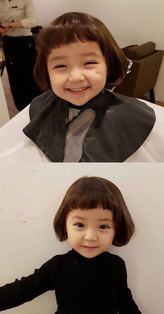 小女孩短发发型 真的好可爱好可爱