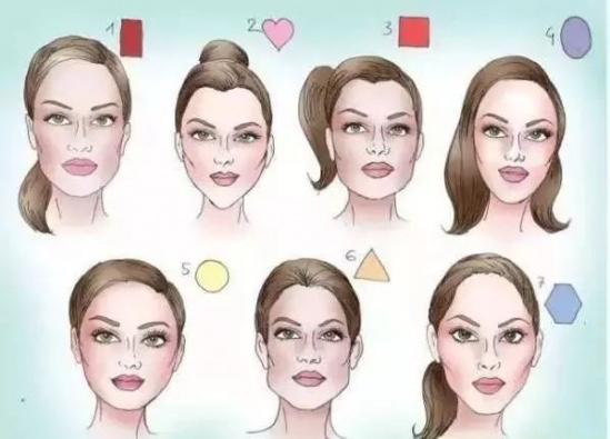 发型设计与脸型搭配 发型+脸型+妆容搭配正确,永远的18岁