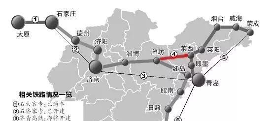 青岛一龙口线路图