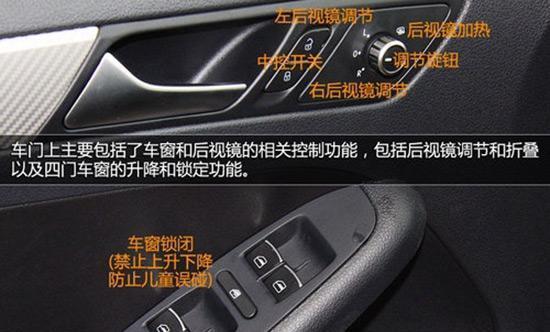 最全车内按键分类标识图解,再也不用做汽车小白了