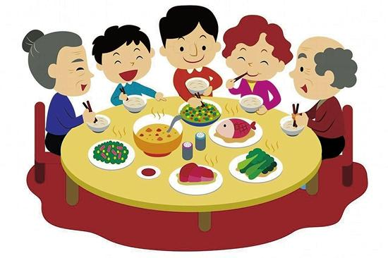 """从""""吃顿好的""""到""""感受团聚"""" 年夜饭""""吃""""出新滋味"""