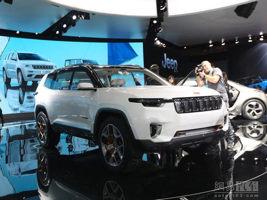 2019年亮相/7座布局 Jeep全新SUV谍照曝光