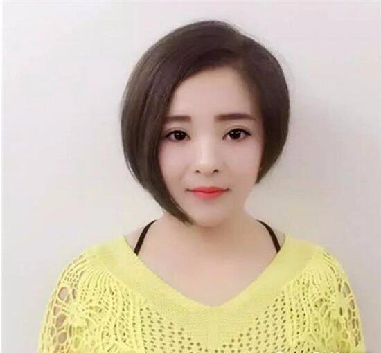 女生不对称短发发型,2018最新短发发型流行款