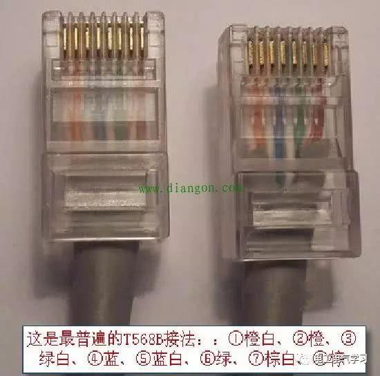 网络插座如何接线?墙壁网线插座接法图解