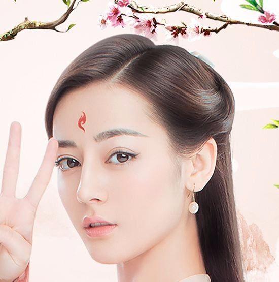 谢娜模仿迪丽热巴的白凤九,仙气十足差点要美过热巴