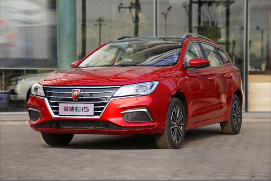 国内首款纯电动休旅车荣威Ei5抵达北京
