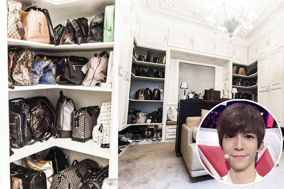 林志颖老婆晒出衣柜被质疑, 看了赵丽颖等人的衣帽间, 网友沉默了