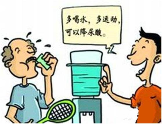 痛风患者的治疗建议,生活中常用饮品要注意