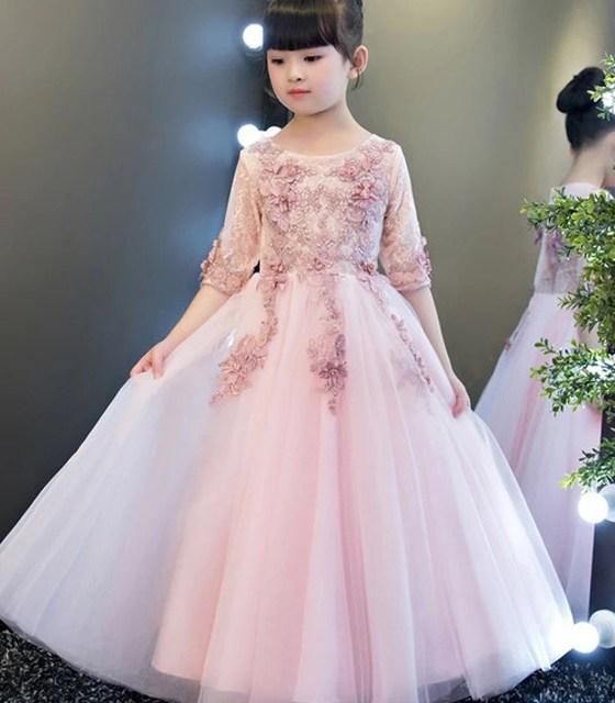 十二星座适合的公主裙,天秤座的优雅,双鱼座的图片