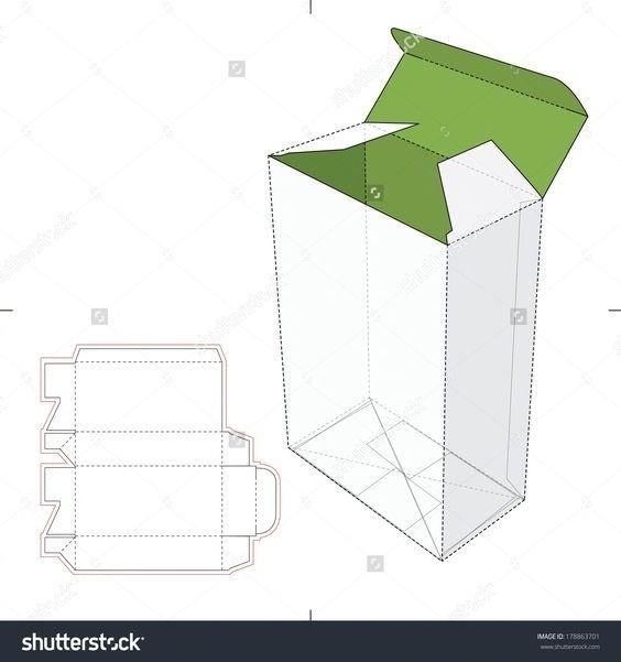 不同的盒型包装设计展开图,转需留存