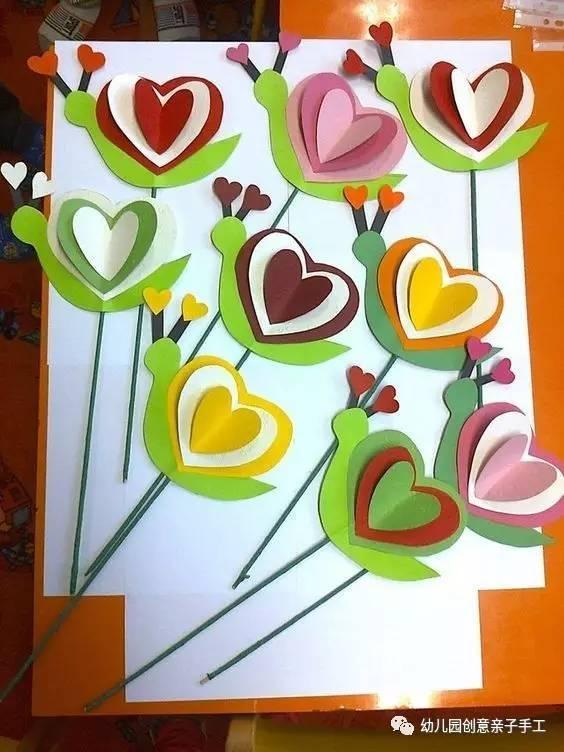 幼儿园亲子手工之小盘点:五一在家,陪孩子玩的50种卡纸创意!图片