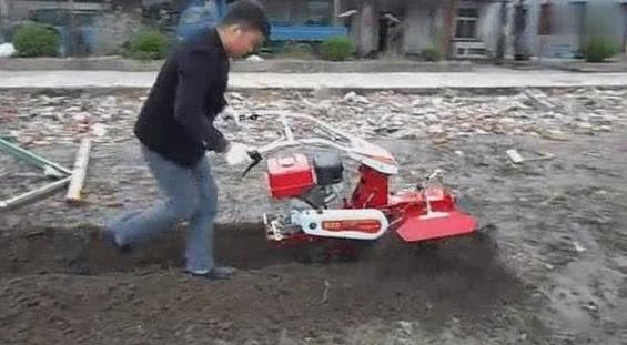 国产三菱发动机开沟机,动力强劲速度快,30秒十多米!