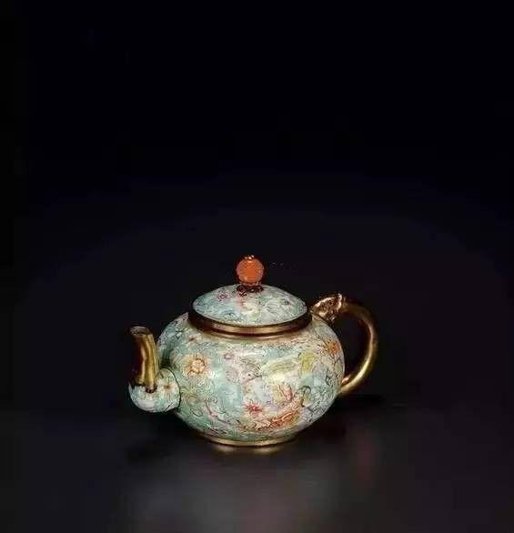 中国风古大全,领略中国精美工艺品双框图片墙背景茶壶图片