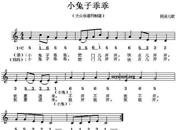 abc钢琴简谱