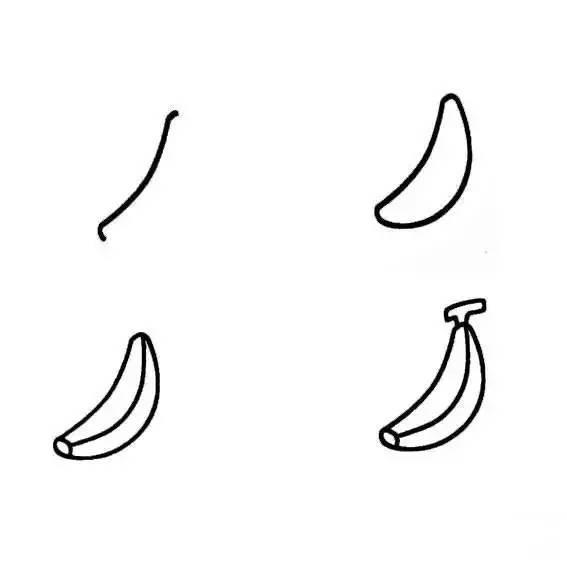 ①1个香蕉图片