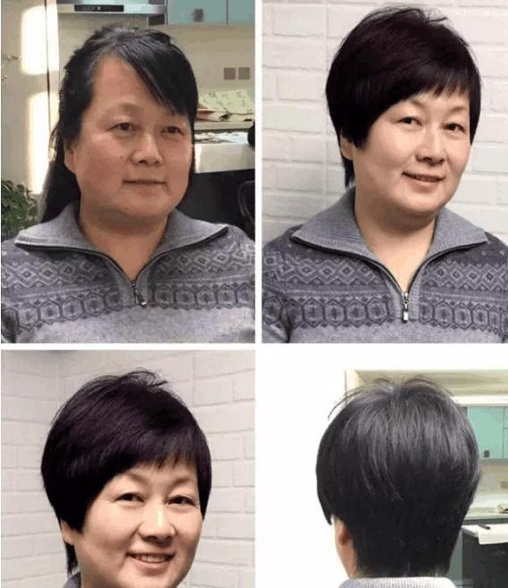 50岁大姐到底适合什么发型? 这几款短发让你美的认不图片