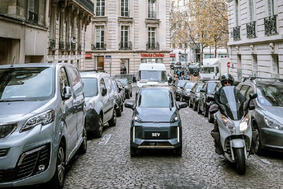车和家SEV曝光,造型小巧<em>前后座椅</em>设计,将登陆巴黎