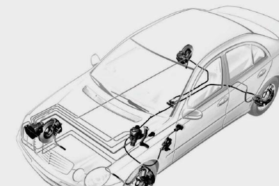 维修案例:奔驰SBC<em>制动系统</em>故障分析及排除