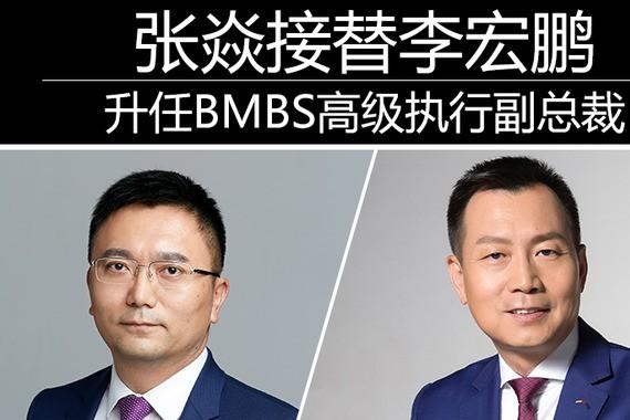 张焱接替李宏鹏 升任<em>BMBS</em>高级执行副总裁