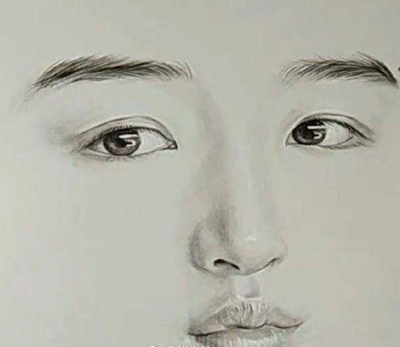 女星们的手绘头像,杨幂刘亦菲最好认,其他的你们认得吗?