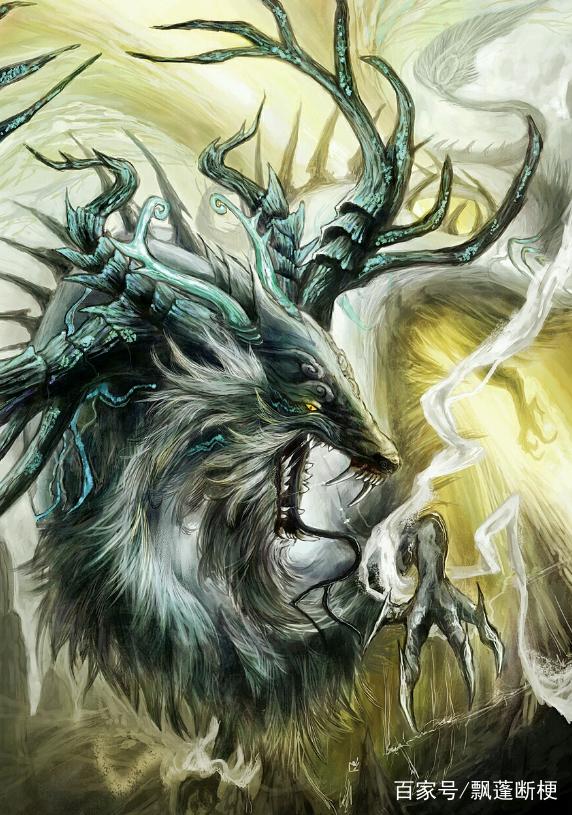 十二星座专属恐怖魔神,天蝎座是一条白龙,白羊座七只眼睛!骚扰了巨蟹座男图片