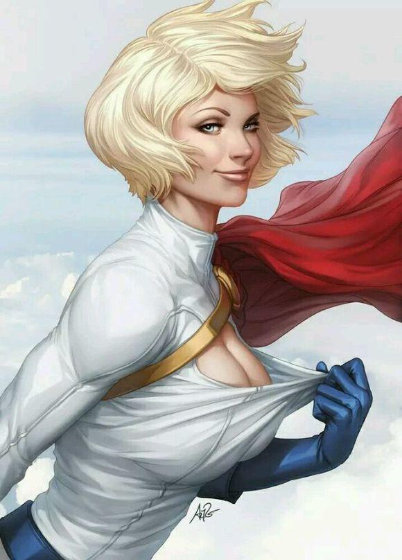 20张漫威dc超级女英雄手绘美图,性感美艳!