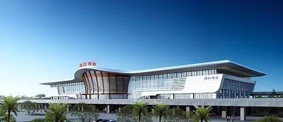广东最炫高铁站:造价4.5亿,预计明年投入使用图片