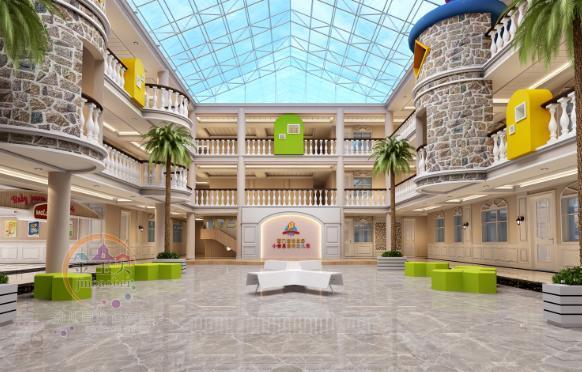 这家国际幼儿园装修成这样, 孩子们还想回家吗? 幼儿园设计效果图图片