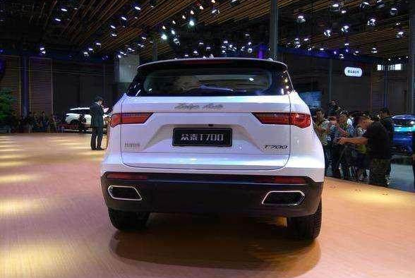 众泰全新七座SUV,颜值不输CR-V,配旋钮换档,2.0T动力,卖12万