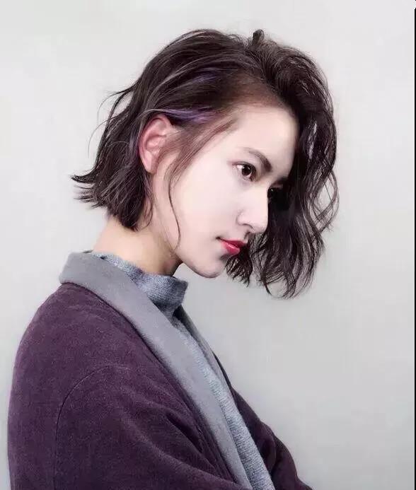 女生剪短发不烫一烫,剪短还有什么意义?图片图片