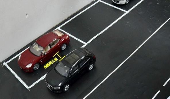 侧方位停车并不难,做好这5步一次性倒进去!