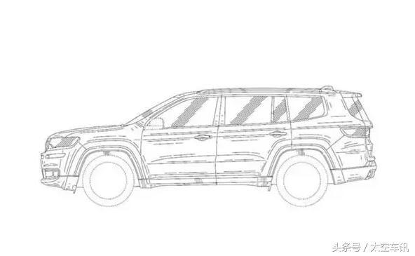 Jeep全新7座SUV有望于2018北京车展亮相
