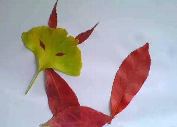 这十款幼儿树叶粘贴画,家长请收好!简单易做,提升孩子图片