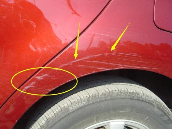车漆被刮了怎么处理需要报保险吗   汽车维修技术网