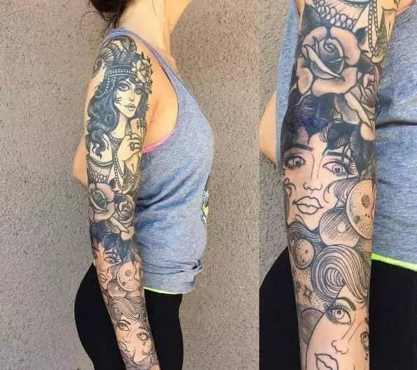 为什么我今年纹身了(花臂),而我又不是混混.图片