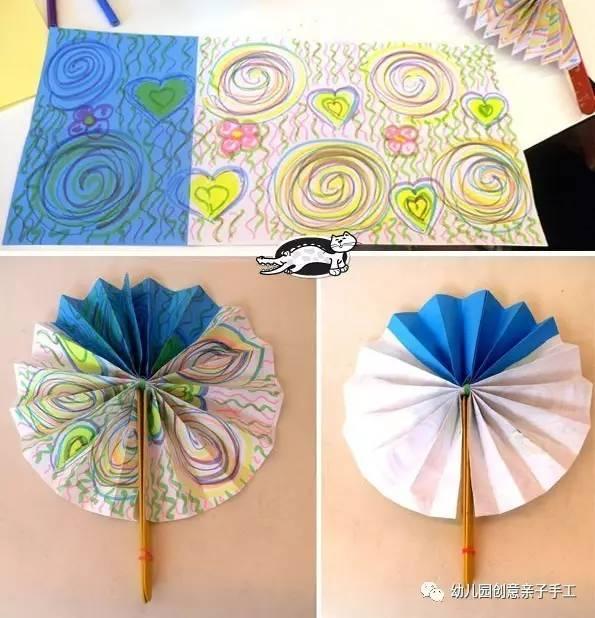 幼儿园手工之折纸大全,3岁小班孩子也能玩,美又创意幼师推荐!