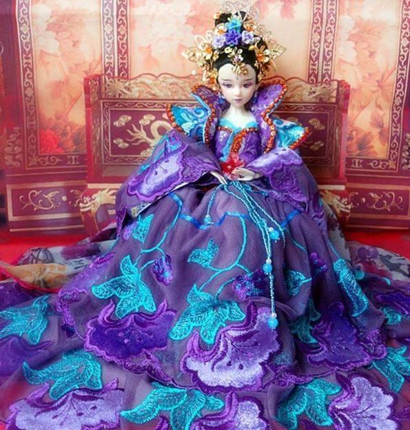 十二星座水灵灵的古装芭比娃娃,每一个都风华绝代,你