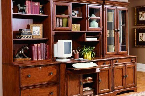 办公书柜摆放也是有风水讲究的呦!