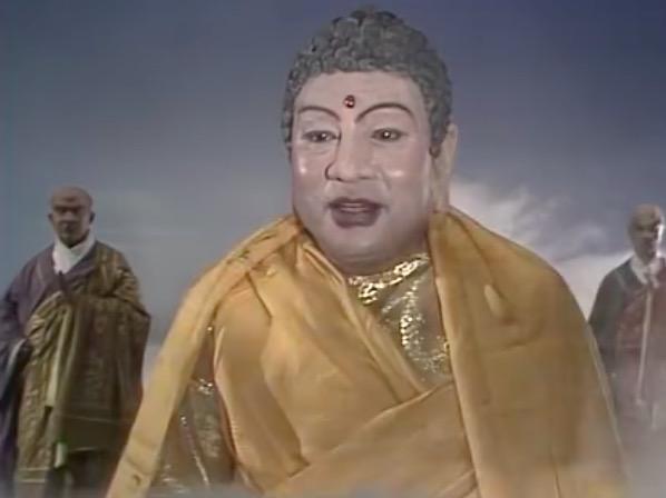 《西游记》孙悟空在如来佛祖手指上写了什么字?图片