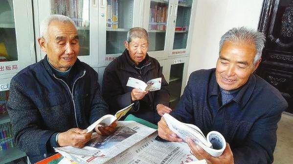 农村老人悼�z#���_而胡宝全老人幸福的晚年生活,得益于我市大力建设农村幸福院这一惠民