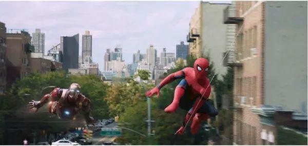 去年上映的《蜘蛛俠:英雄歸來》