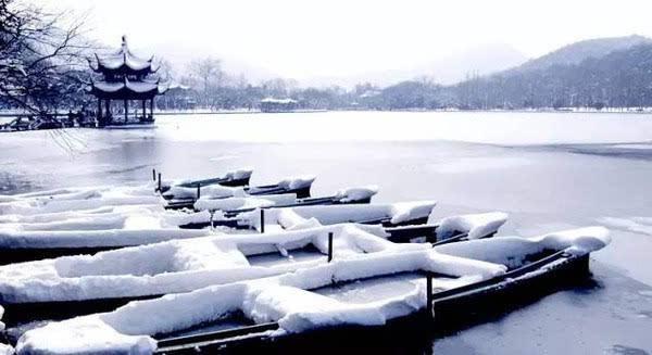 一下雪,杭州就变成了临安,来看看西湖 断桥残雪 的美景吧