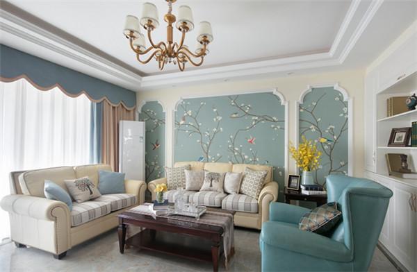 120平米三房两厅装修效果图, 简单而温馨